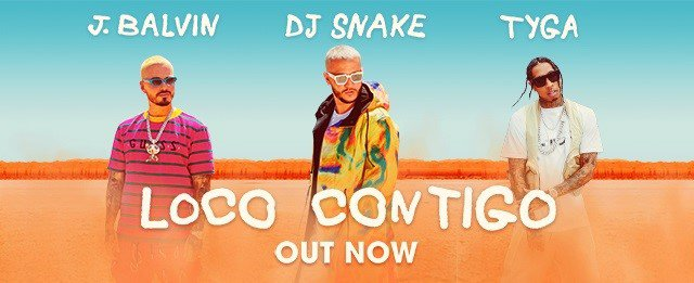 J Snake, J Balvin y Tyga lanzan el hit veraniago Loco contigo