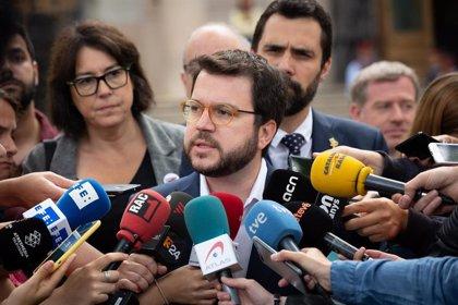 """Aragons ve una """"involución democrática"""" que Junqueras no pueda jurar como eurodiputado"""