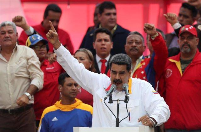 "Maduro asegura que el Grupo de Lima pretende ""dividir América Latina"" para entregarla como ""botín"" a EEUU"