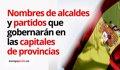 El PP puede perder el 38% de capitales de provincia pero recuperar Madrid y Zaragoza y mantener Málaga