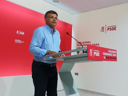 """El PSOE en Extremadura sigue """"abierto al diálogo"""" para las alcaldías con Cs, de quien """"depende"""" la """"decisión"""""""