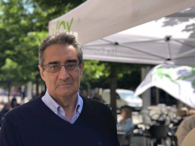 """Zaragoza.- Vox confía en reunirse con Cs y pide que """"no se escenifique el cordón sanitario que pretende la izquierda"""""""