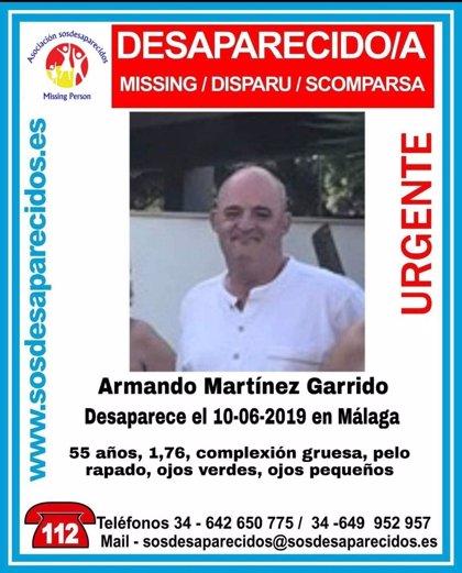 Buscan a un hombre de 55 años desaparecido en Málaga desde el pasado lunes