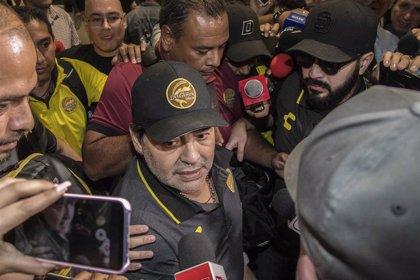 Maradona aclara su adiós como entrenador de Dorados de Sinaloa