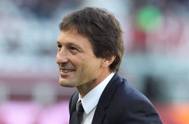 Leonardo Nascimento de Araujo, director deportivo del Paris Saint-Germain.
