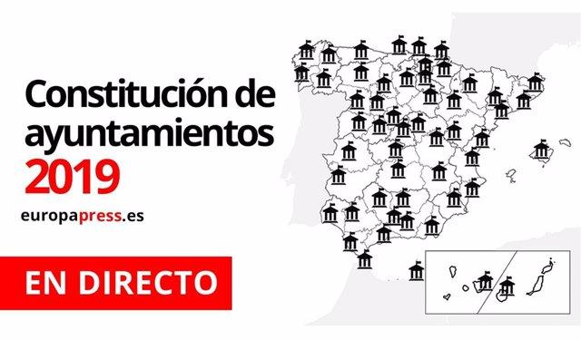 Constitución ayuntamientos 2019 | En directo