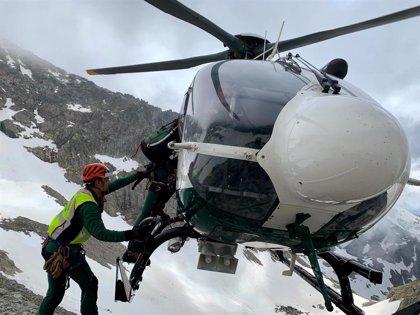 Muere un montañero al caerse en la cara norte del Pico Balaitous