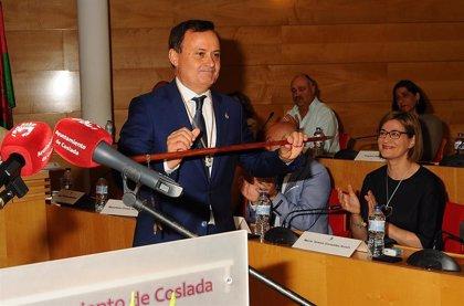 Ángel Viveros revalida el mandato como alcalde de Coslada con los votos del PSOE y el resto de formaciones de izquierda