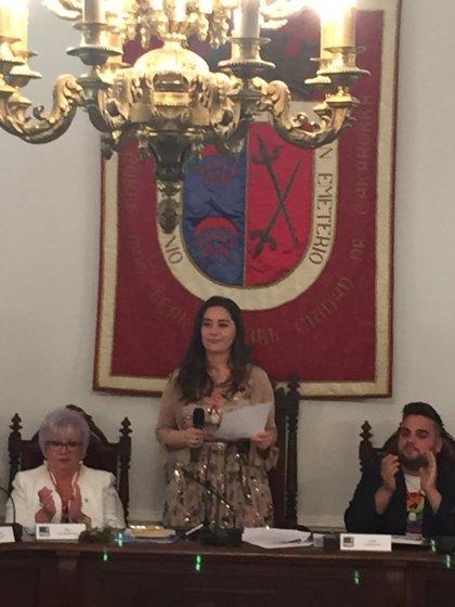 26M.- Elisa Garido elegida alcaldesa de Calahorra