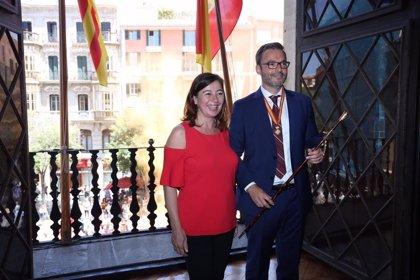 """Armengol señala que el PSIB es """"por primera vez"""" el partido con más poder municipal en Baleares"""