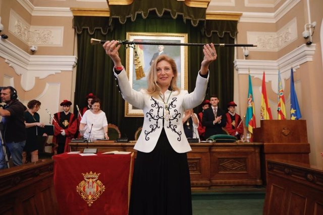 AV.- Castellón.- Marco, reelegida alcaldesa de la ciudad con el apoyo de Compromís y Podem-Csem-EU
