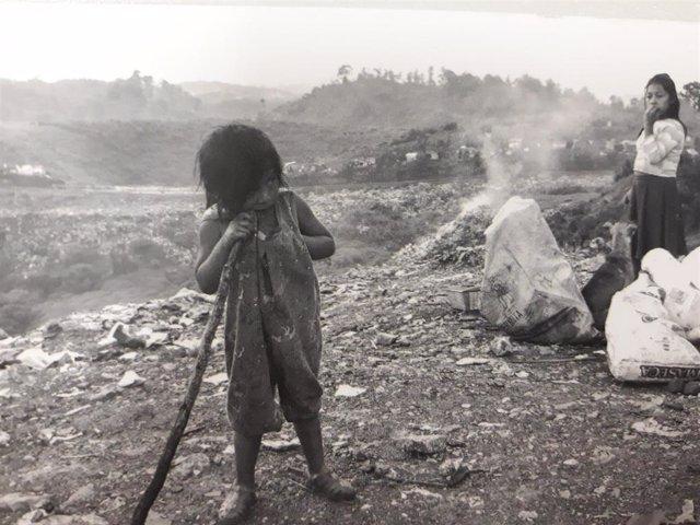 La montaña de basura de Cobán (Guatemala)