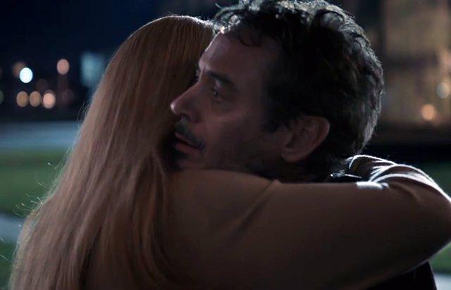 PARA DOMING Desgarradora imagen inédita de Iron Man y Rescue en Endgame