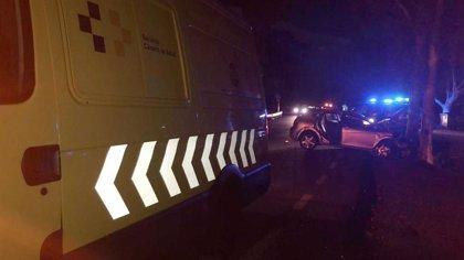 Dos heridos, uno grave, en un accidente de tráfico en la carretera de El Médano