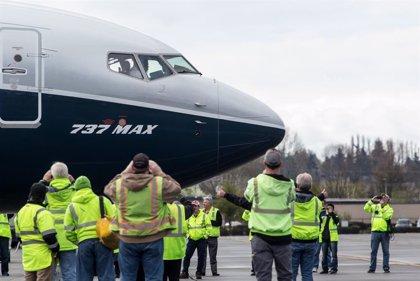 Boeing reduce casi un 31% sus entregas de aviones comerciales hasta mayo por la crisis del 737 MAX