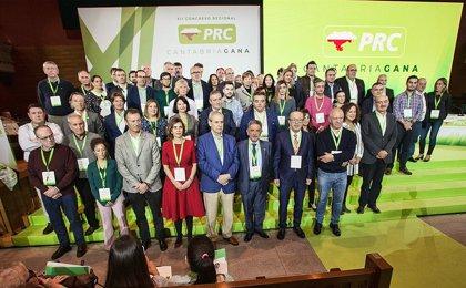 La Ejecutiva del PRC se reunirá este lunes para analizar el pacto de Gobierno de Cantabria alcanzado con el PSOE