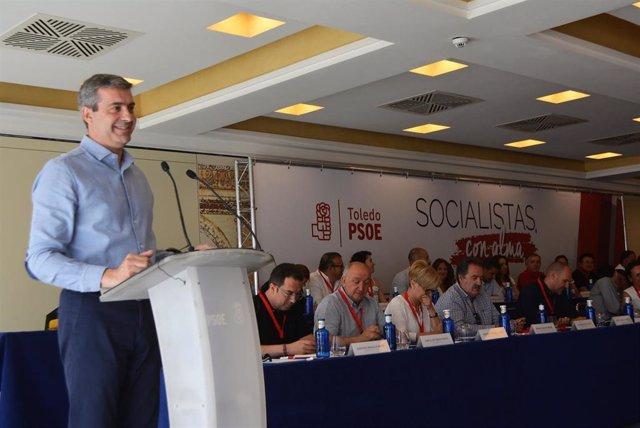 Álvaro Gutiérrez es elegido por el PSOE de Toledo para continuar al frente de la Diputación