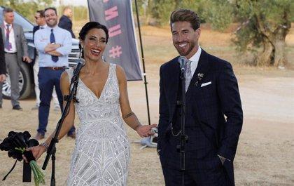 """Sergio Ramos y Pilar Rubio tras su boda: """"He ido a muchas bodas, pero como esta ninguna"""""""