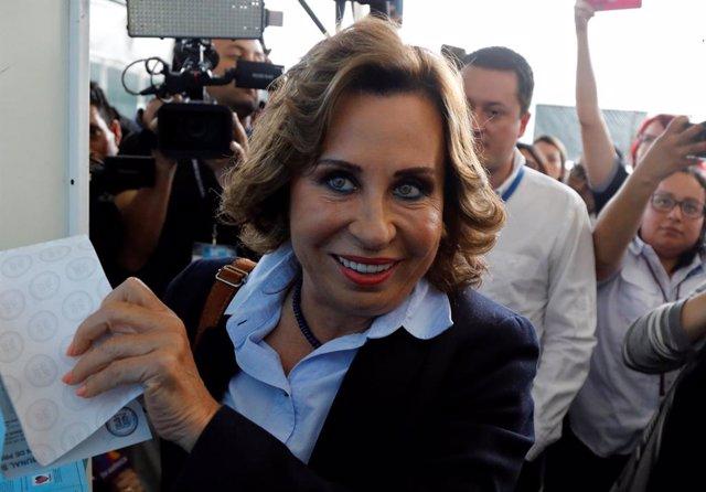 ¿Quién Es Sandra Torres, La Candidata Favorita A Ganar Las Elecciones De Guatelamala?
