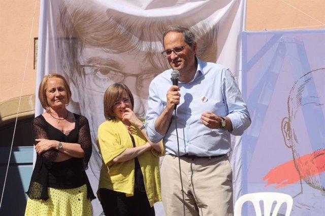 """Torra critica els """"pactes incomprensibles amb partits del 155"""" d'alguns independentistes"""