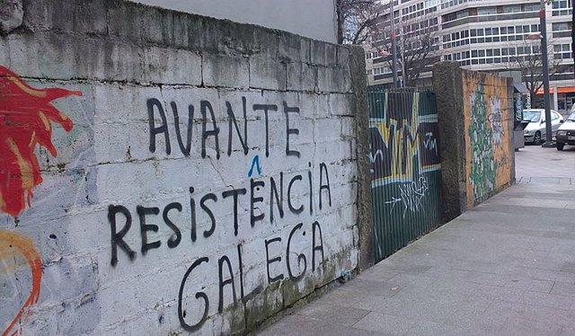 Pintada de Resistencia Galega