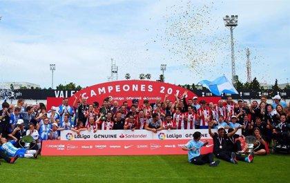 Celta, Málaga y Athletic, campeones de la segunda temporada de LaLiga Genuine Santander