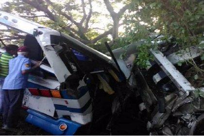 Un accidente de autobús deja al menos 18 muertos en el noroeste de Venezuela