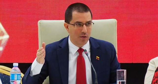 Colombia.- Arreaza pide a Colombia que respete los acuerdos de paz y que acabe con la producción y distribución de droga