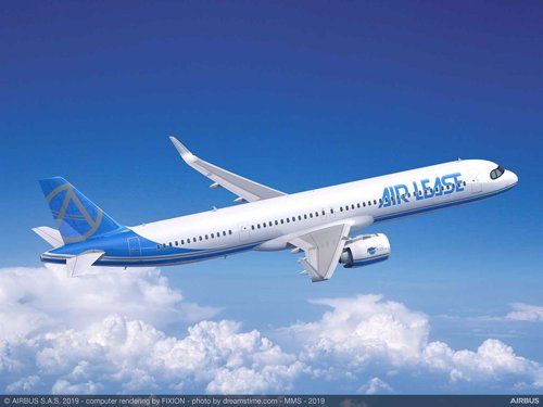Airbus lanza su nuevo avión A321XLR que estrena con un pedido de 100 unidades para Air Lease Corporation