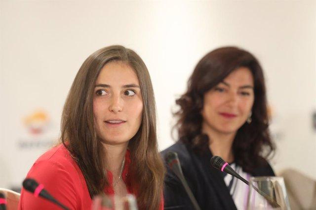 Desayuno Deportivo de Europa Press 'Motor, con M de Mujer' en el Hotel Hesperia de Madrid