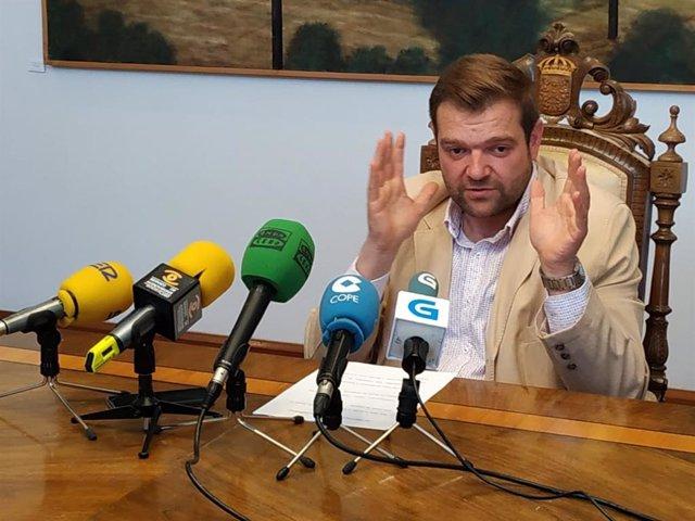 El secretario del PP de Lugo insta a G. Caballero a explicar los motivos por los que la Diputación necesita un cambio