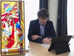 Puigdemont es reunirà aquest dimarts amb els alcaldes i els dirigents territorials de JxCat a Brussel·les (EUROPA PRESS)
