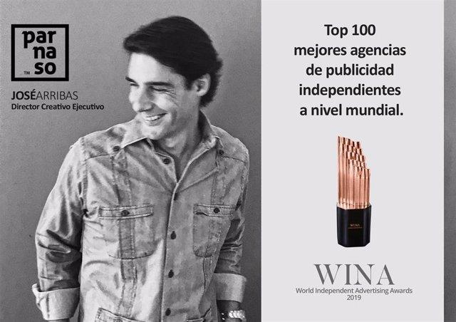 La andaluza Parnaso entra en el Top 100 mundial de las mejores agencias de publicidad independientes por el WINA