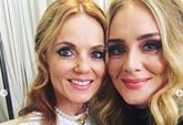 Foto: Adele se lo pasa en grande en el concierto de las Spice Girls