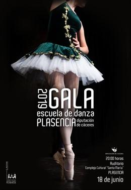 La Escuela de Danza de Plasencia celebra su gala de fin de curso este martes en el complejo cultural Santa María