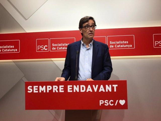 """Illa (PSC) sobre la ruptura de Cs amb Valls: """"Els pactes amb Vox comencen a passar factura"""""""