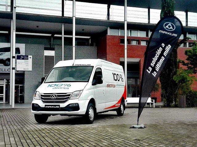 Economía/Motor.- El fabricante inglés de vehículos Maxus comienza a operar en España con la venta de furgonetas