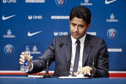 """Al-Khelaïfi: """"Mbappé seguirá al 200% en el PSG, no le dejo marcharse ni loco"""""""