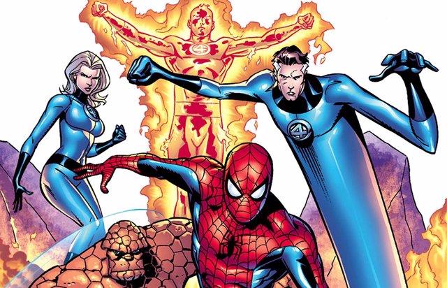 Marvel anuncia un crossover entre Spider-Man y Los 4 Fantásticos