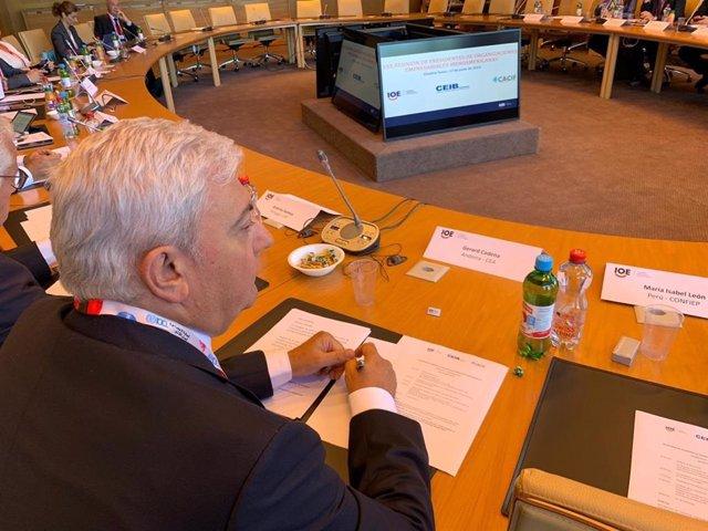 La patronal andorrana assumeix la presidncia del Consell d'Empresaris Iberoamericans