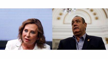 Sandra Torres y Alejandro Giammatei, los dos candidatos opuestos a la Presidencia de Guatemala que omiten la corrupción