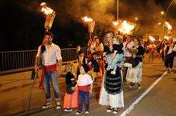 La Pobla de Segur celebra la tradicional baixada de falles amb 140 participants (ACN)