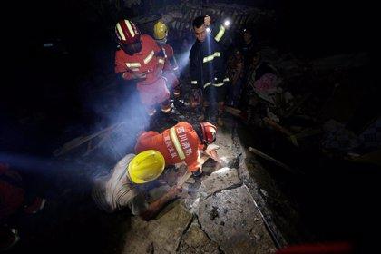 Asciende a 11 la cifra de víctimas mortales por dos fuertes terremotos en el sur de China