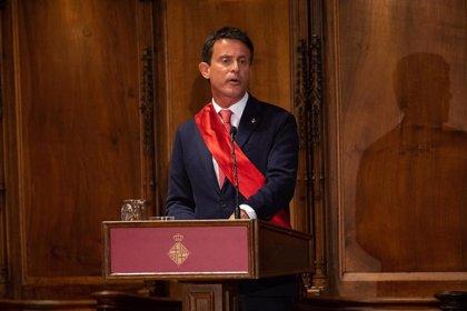 """Cs arremete contra la """"forma de obrar"""" de Valls: """"No tuvo en absoluto en cuenta al partido para investir a Colau"""""""