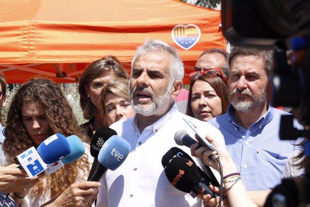 """AMP.- Carrizosa asegura que Cs seguirá trabajando con Manuel Valls: """"Compartimos valores"""""""