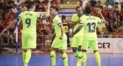 El Barça Lassa no perdona ElPozo i es jugaran el títol al Palau Blaugrana (LNFS)