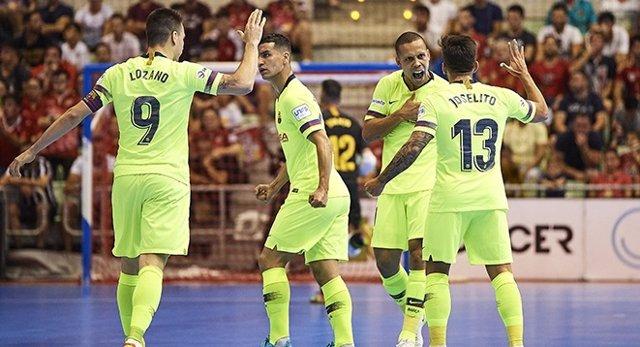 Futbol sala/Playoffs.- (Crònica) El Barça Lassa no perdona aquesta vegada i obliga ElPozo a jugar-se el títol en el Palau