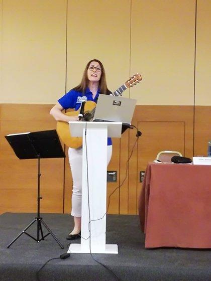 Músicos por la Salud recrea un microconcierto en un hospital en la jornada de Humanización de la Gestión Sanitaria