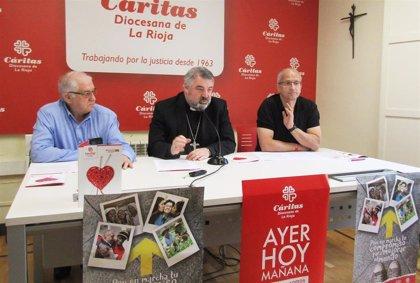 Cáritas La Rioja atendió en 2018 a 3.259 personas, benefició a 6.567 y destinó 253.301€ a ayudas económicas directas