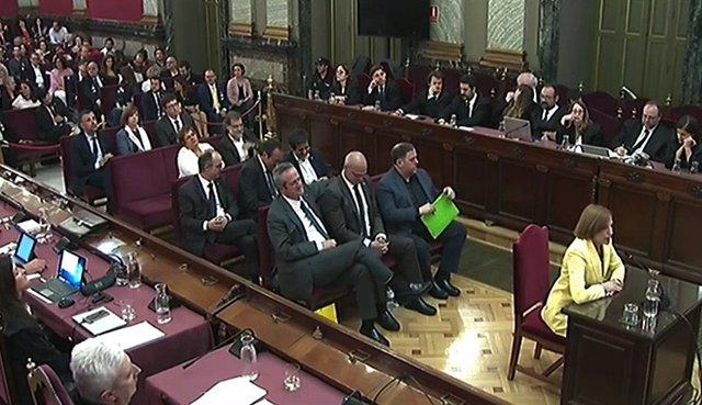 Última jornada del judici del procés en el Tribunal Suprem
